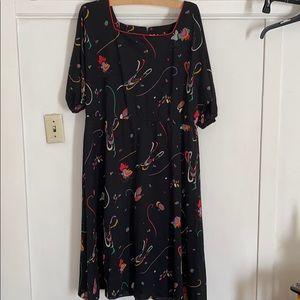 Vintage 22 1/2  Midi Dress